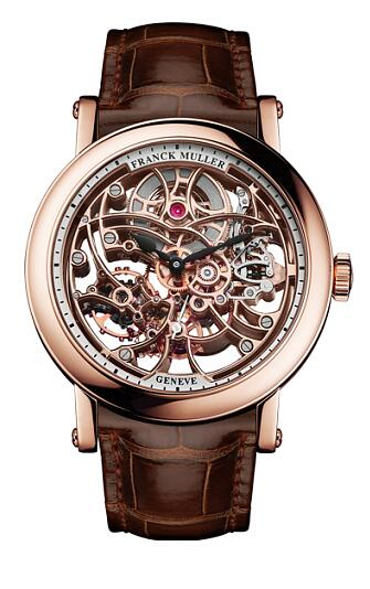 FRANCK MULLER 7 Days Power Reserve Skeleton 7042 B S6 SQT Replica Watch