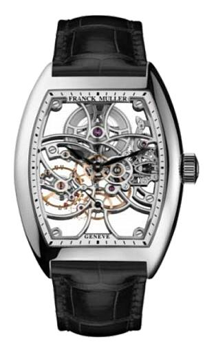 FRANCK MULLER 7 Days Power Reserve Skeleton Steel 8880 B S6 SQT ST Replica Watch