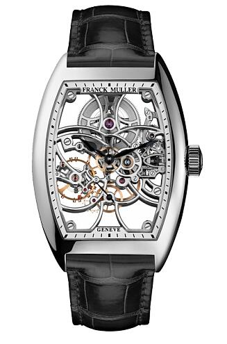 FRANCK MULLER 7 Days Power Reserve Skeleton 8880 B S6 SQT WG Replica Watch