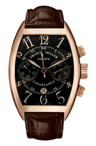 FRANCK MULLER 8880 C CC DT Casablanca Chronograph Gold Replica Watch