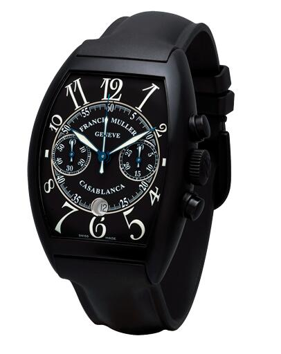 FRANCK MULLER 8885 C CC DT NR White Casablanca Chronograph Replica Watch