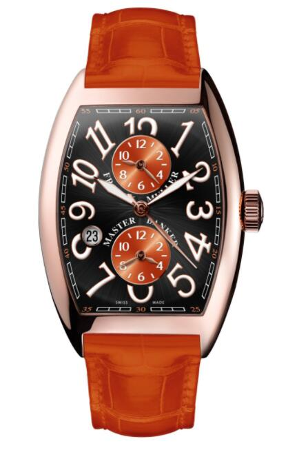 FRANCK MULLER Cintree Curvex Master Banker Asia Exclusive 7880 MB SC DT II OR 5N Replica Watch