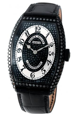 FRANCK MULLER Cintree Curvex Chronometro 1752 QZ NR CHR MET D CD Replica Watch