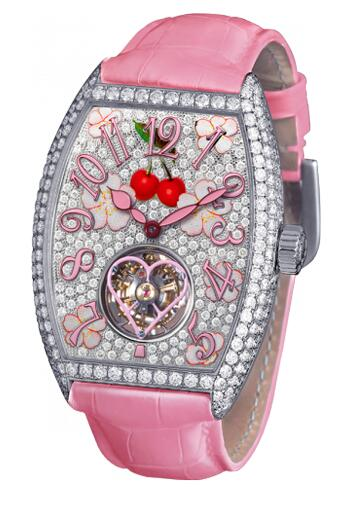 FRANCK MULLER Cintree Curvex Sakura 3080 T D CD Replica Watch