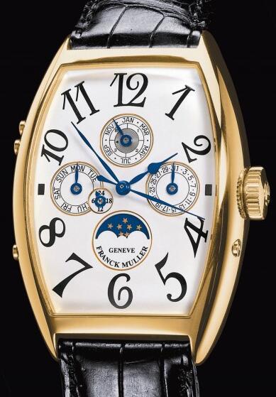 FRANCK MULLER 5850 QP 24 Cintree Curvex Perpetual Calendar Replica Watch