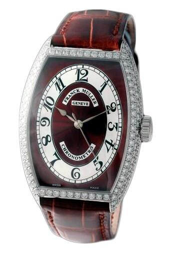 FRANCK MULLER Cintree Curvex Chronometro 5850 SC CHR MET D Brown Replica Watch