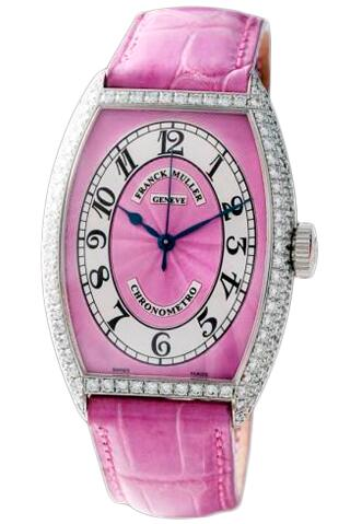 FRANCK MULLER Cintree Curvex Chronometro 5850 SC CHR MET D Pink Replica Watch