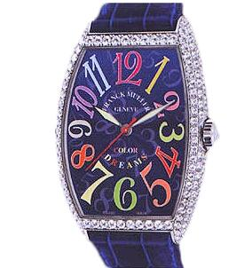 FRANCK MULLER 5850 SC D Cintree Curvex Color Dreams Replica Watch