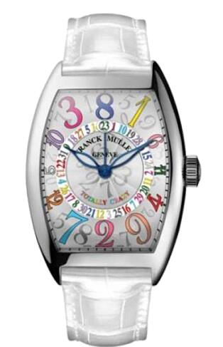 FRANCK MULLER 5850 TT CH COL ST W Cintree Curvex Totally Crazy Hour Replica Watch