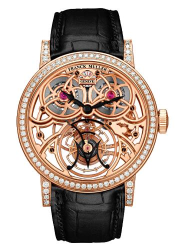 FRANCK MULLER Cintree Curvex Giga Tourbillon 7048 T G SQT BR D Replica Watch