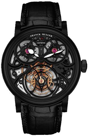 FRANCK MULLER 7048 T G SQT BR NR Cintree Curvex Giga Tourbillon Black Replica Watch