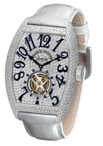 FRANCK MULLER Cintree Curvex Tourbillon 7851 T D CD Replica Watch