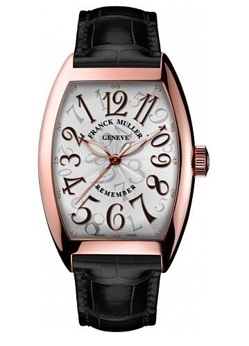 FRANCK MULLER Cintree Curvex Remember 7880 B SC AT REM Rose Gold Replica Watch