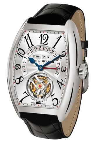 FRANCK MULLER Cintree Curvex Master Calendar Tourbillon 7880 T MC WG Replica Watch