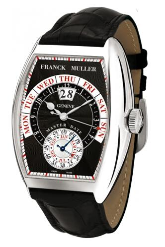 FRANCK MULLER Cintree Curvex Master Date 8880 S6 GG DT White Gold Replica Watch