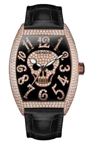 FRANCK MULLER 8880 SC GOTH NBR D CD Cintree Curvex Gothique Replica Watch