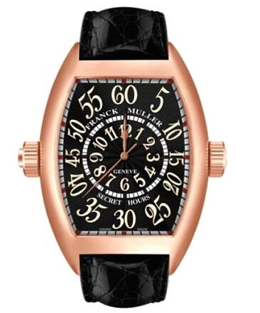 FRANCK MULLER 8880 SE H2 RG Cintree Curvex Secret Hour Replica Watch