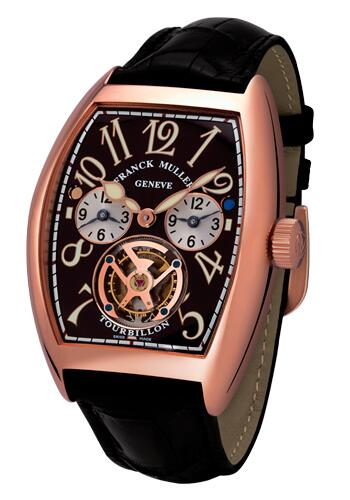 FRANCK MULLER Cintree Curvex Master Banker Tourbillon 8880 T MB RG Replica Watch