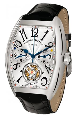 FRANCK MULLER Cintree Curvex Master Banker Tourbillon 8880 T MB WG Replica Watch