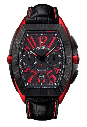 FRANCK MULLER 9900 CC GPG ERGAL Conquistador Grand Prix Chronograph Replica Watch