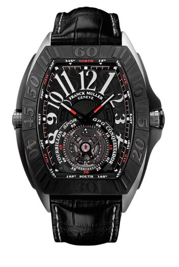 FRANCK MULLER Conquistador Grand Prix Tourbillon 9900 T GPG TITANIUM Replica Watch