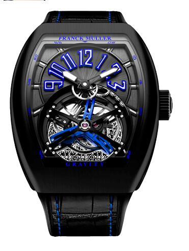 FRANCK MULLER V 45 T GR CS BR NR B Gravity Blue Replica Watch