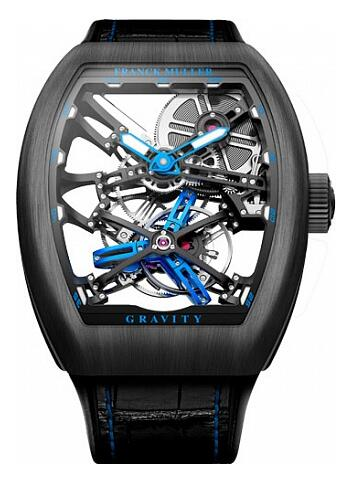 FRANCK MULLER V 45 T GRAVITY CS SQT Gravity Skeleton Replica Watch