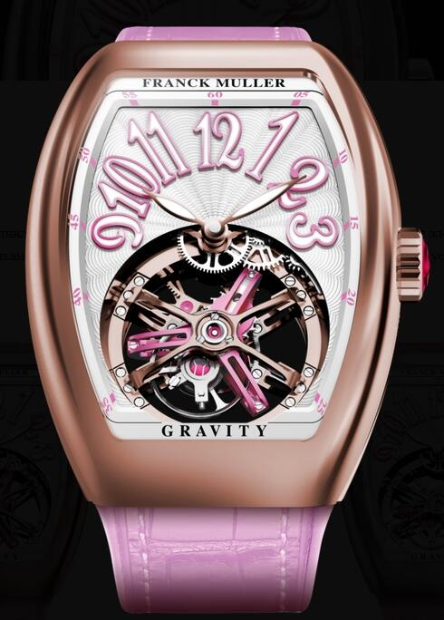 FRANCK MULLER V35 T GR CS RG Gravity Vanguard Lady Replica Watch