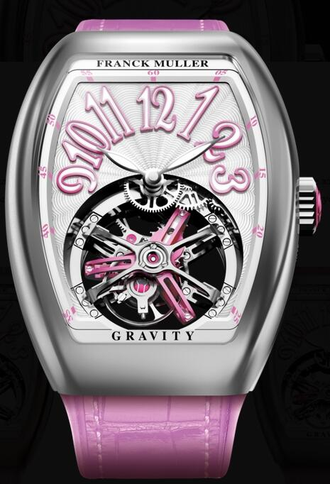 FRANCK MULLER V35 T GR CS WG Gravity Vanguard Lady Replica Watch