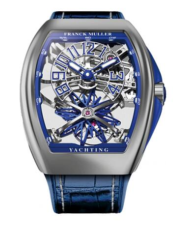 FRANCK MULLER V45 T GR YACHT SQT ST Gravity Yachting Skeleton Replica Watch