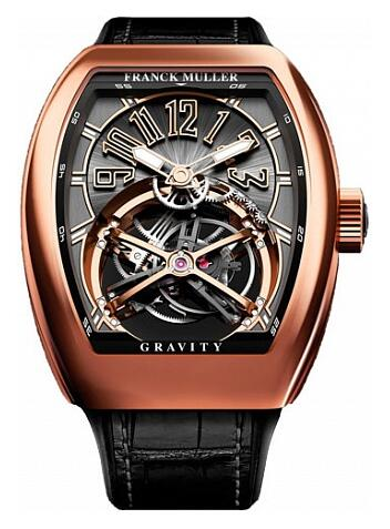 FRANCK MULLER V45T GRAVITY CS Gravity Gold Replica Watch