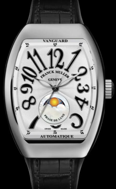 FRANCK MULLER VANGUARD LADY MOONPHASE V 32 SC AT FO L NR Replica Watch