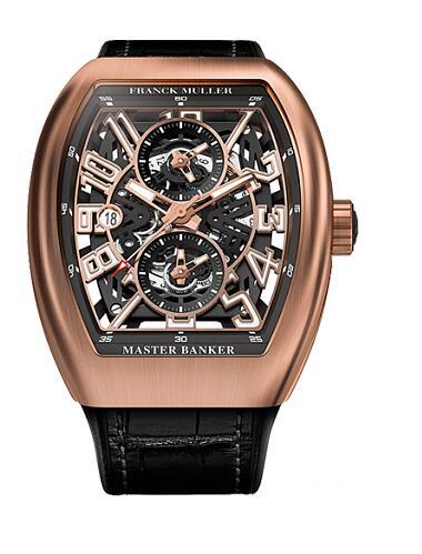 FRANCK MULLER V 45 MB SC DT SQT Vanguard Master Banker Replica Watch