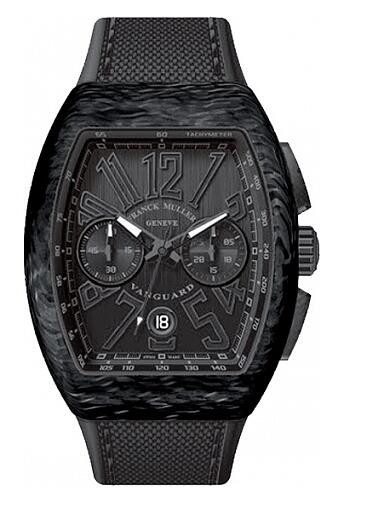 FRANCK MULLER V-45-CC-DT Vanguard Carbon Chronograph Replica Watch