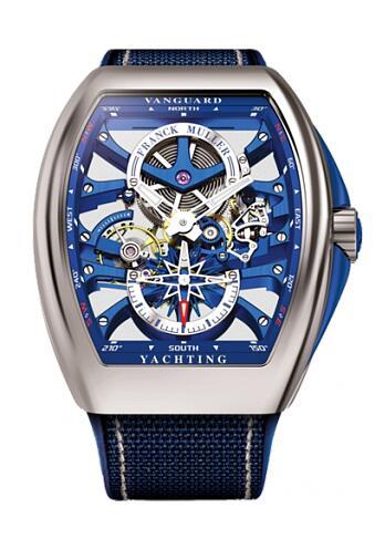 FRANCK MULLER V45 S6 YACHT ST Vanguard S6 Yachting Replica Watch