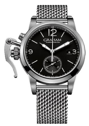 Graham Chronofighter 1695 Steel 2CXAS.B02A.A24F Replica Watch