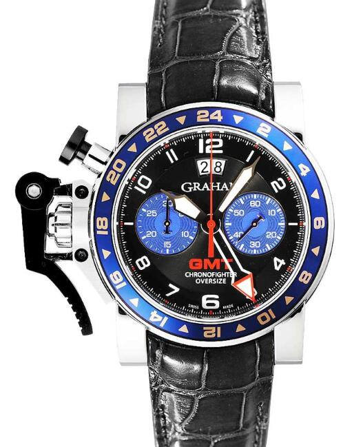 Graham Chronofighter Oversize GMT 20VGS.B26A.K41S Replica Watch