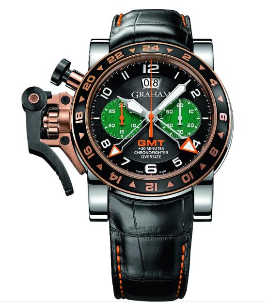 Graham Chronofighter GMT 2OVGG.B43A.K10F Replica Watch