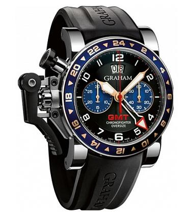 Graham Chronofighter Oversize GMT 2OVGS.B26A Replica Watch