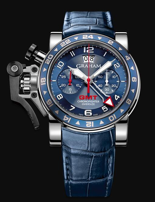 Graham Chronofighter GMT 2OVGS.U06B Replica Watch