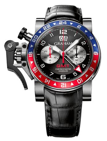 Graham Chronofighter Oversize GMT 2OVHS.B39A.C118S Replica Watch