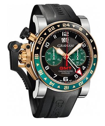 Graham Chronofighter Oversize GMT 2OVGG.B16A.K10S Replica Watch