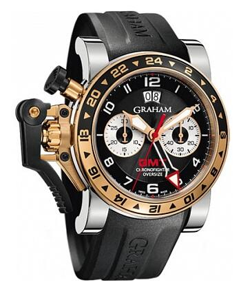 Graham Chronofighter Oversize GMT 2OVGG.B21A.K10S Replica Watch
