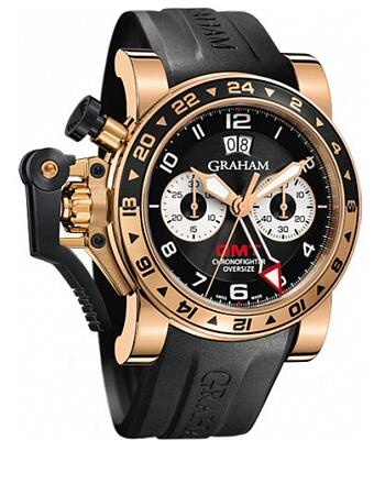 Graham Chronofighter Oversize GMT 2OVGR.B21A.K10B Replica Watch