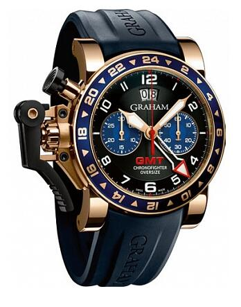 Graham Chronofighter Oversize GMT 2OVGR.B26A Replica Watch