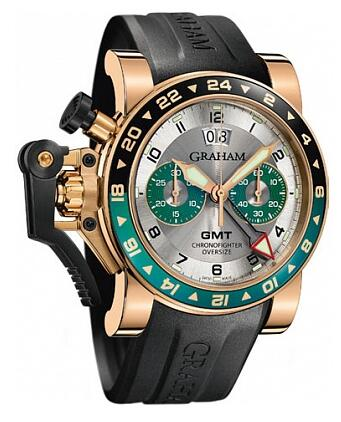 Graham Chronofighter Oversize GMT 2OVGR.S06A.K10B Replica Watch