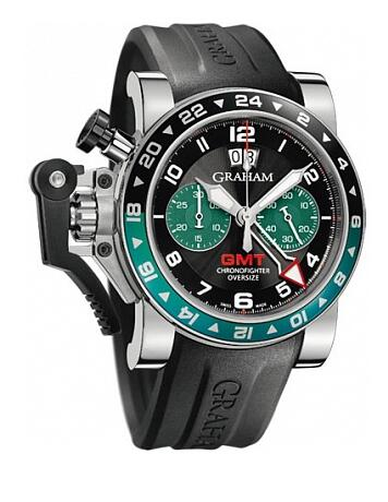 Graham Chronofighter Oversize GMT 2OVGS.B12A.K10B Replica Watch