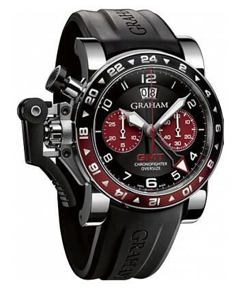 Graham Chronofighter Oversize GMT 2OVGS.B20A Replica Watch
