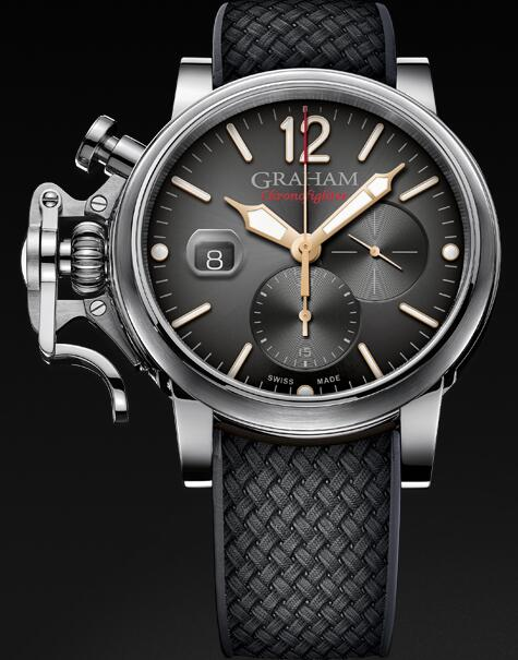 Graham Chronofighter Grand Vintage 2CVDS.B25A Replica Watch