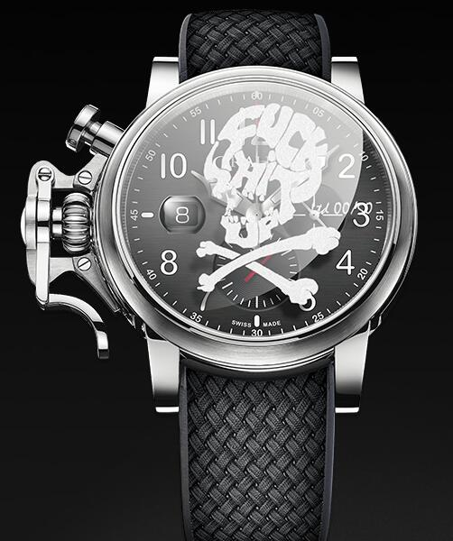 Graham Chronofighter Grand Vintage SKULL 2CVDS.B29F Replica Watch